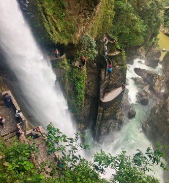 Baños de Agua Santa Ecuador Pailon del Diablo