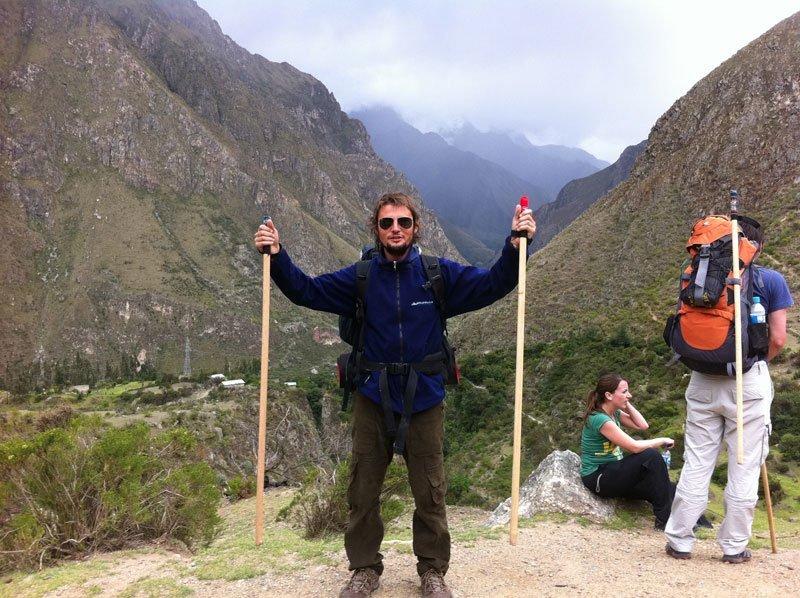Huayllabamba camino inca