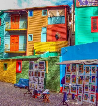 Caminito Buenos Aires Barrio de la Boca Argentina