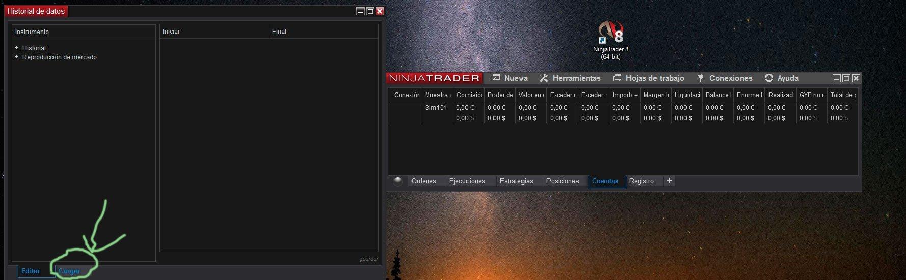 Tutorial-Market-Replay-Ninjatrader-8