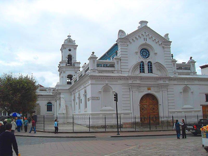 Catedral vieja de Cuenca, Ecuador