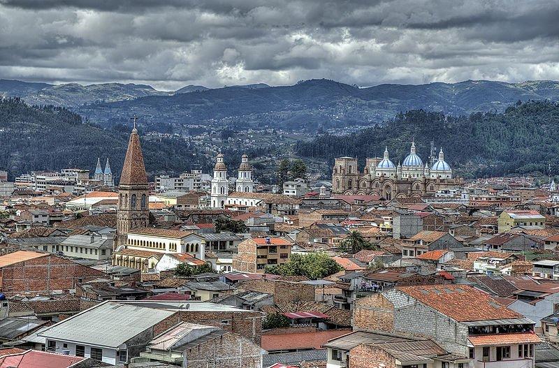 Centro histórico colonial de Cuenca, Ecuador