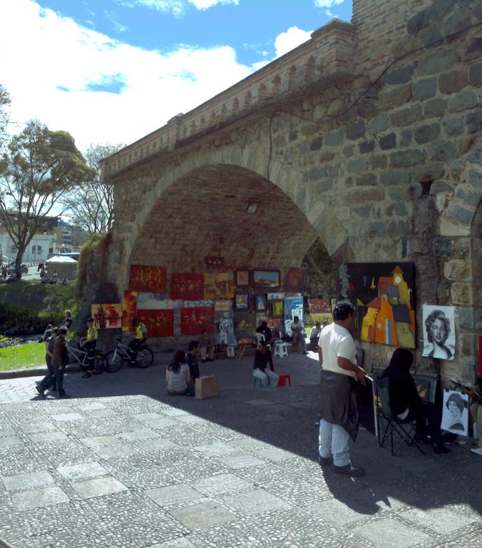 El Puente Roto de Cuenca, Ecuador