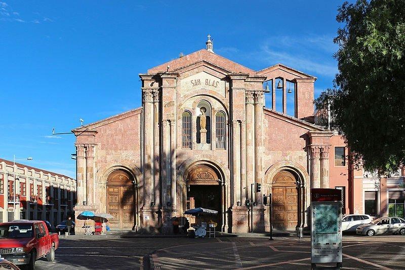 Iglesia de San Blas, Cuenca, Ecuador
