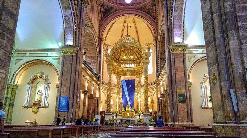 La Catedral Nueva o Catedral de la Inmaculada Concepción de Cuenca por dentro
