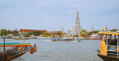 Barcos, ferrys y cruceros en Bangkok. Cómo moverse por el río Chao Phraya fácilmente