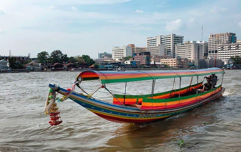 Barcos privados en Bangkok bote de alquiler