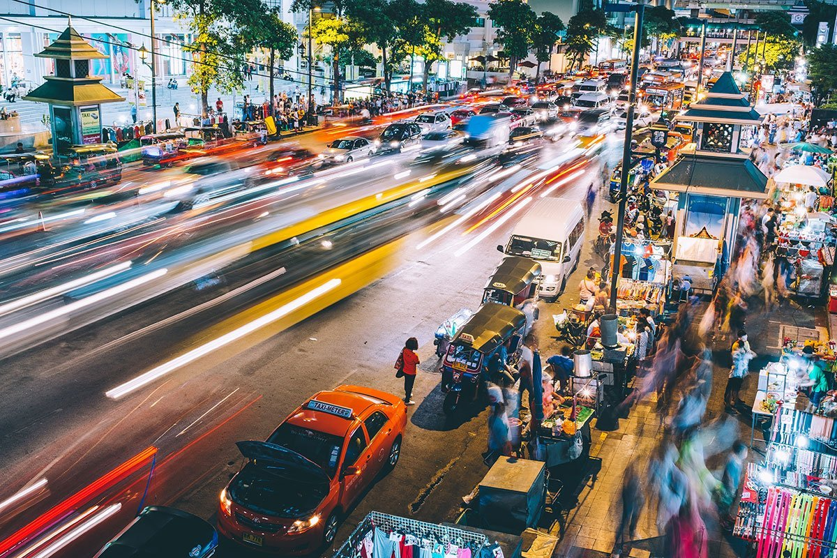 Cómo llegar al centro de Bangkok desde los aeropuertos de Suvarnabhumi y de Don Muang