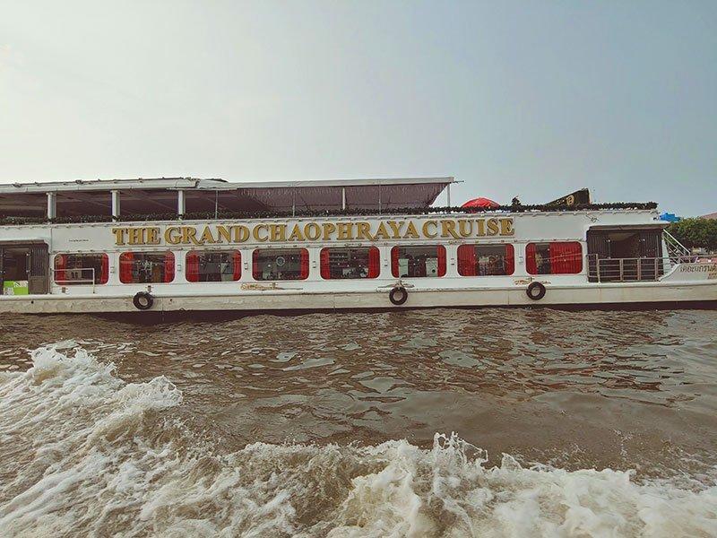 Crucero de lujo en Bangkok paseo por el río Chao Phraya
