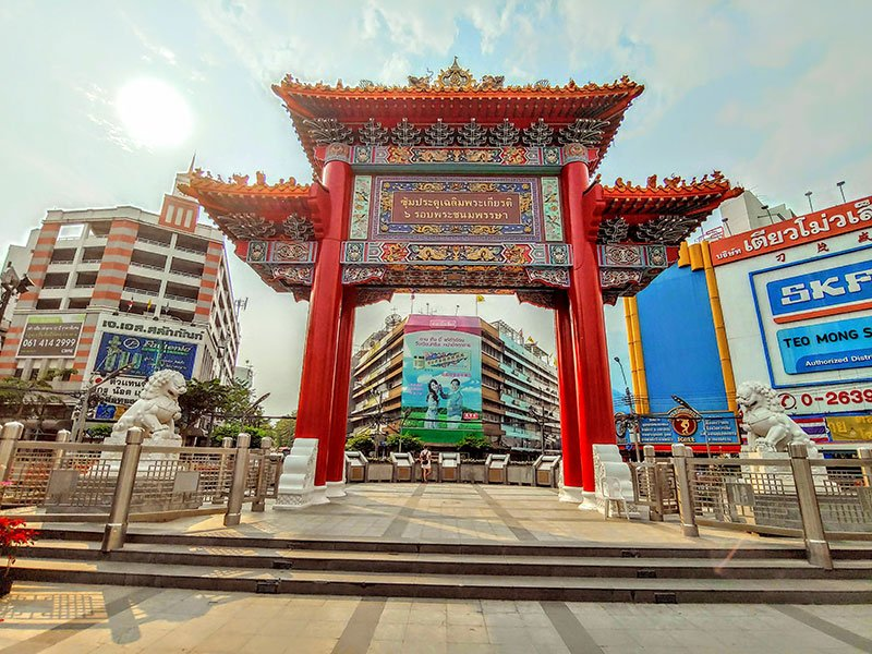 Chinatown barrio chino Bangkok