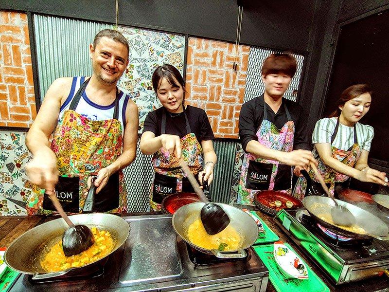 Clases de cocina turismo Bangkok