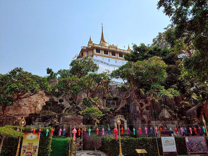 Gold Mount actividades Bangkok