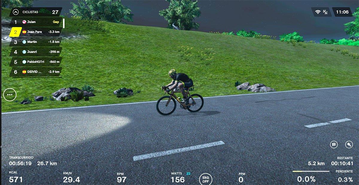 Rodillos inteligentes smart bike Bkool