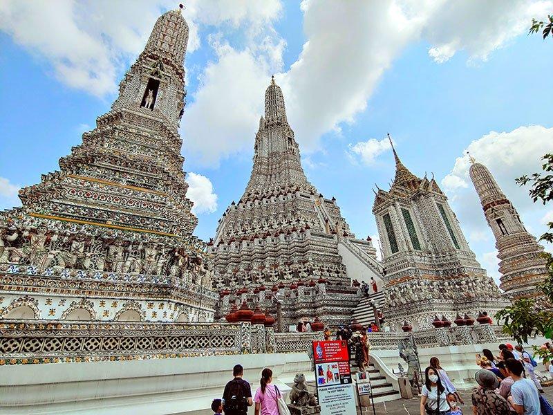 Wat Arun turismo Bangkok