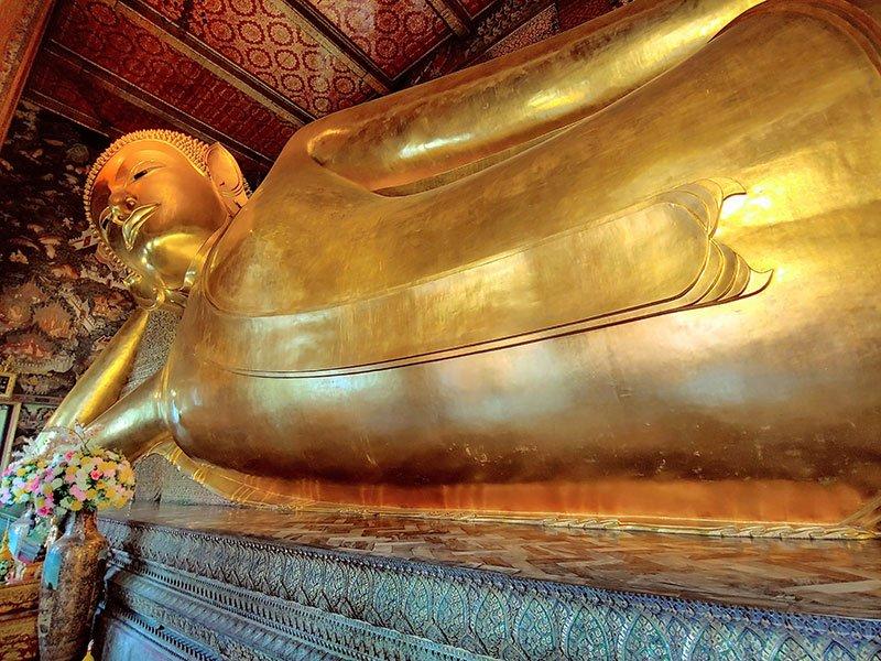 Wat Pho Buda reclinado tours