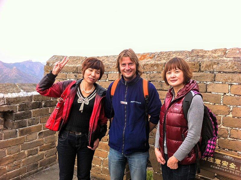 Gran Muralla china senderismo Jinshanliang