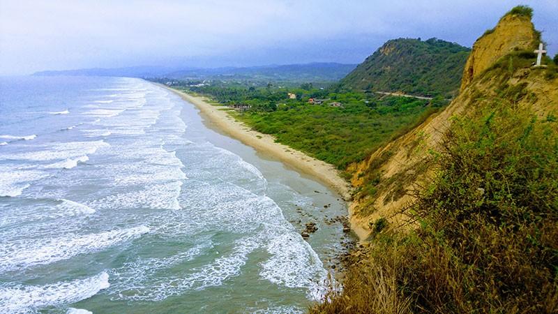 Olón mejores playas Ecuador