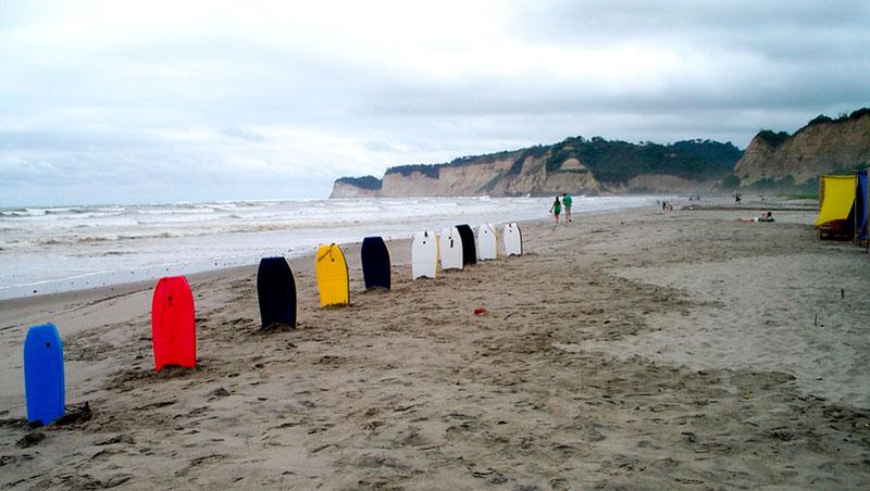 Playa Canoa Manabi Ecuador