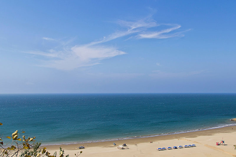 Playa Santa Marianita en Manabi
