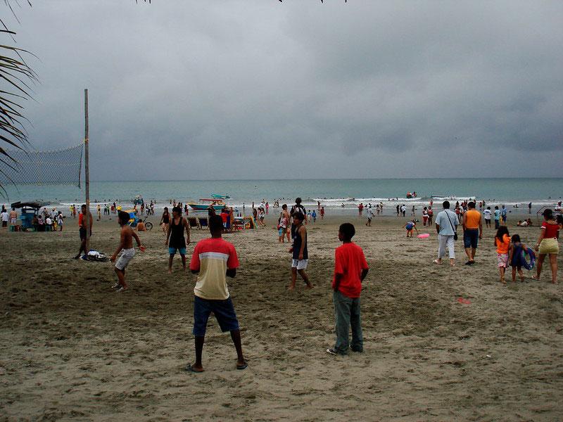 Playa de Atacames Esmeraldas