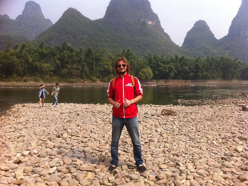 Crucero por el rio Li Guilin China Yangshuo