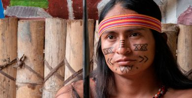 Indígena Shuar Ecuador