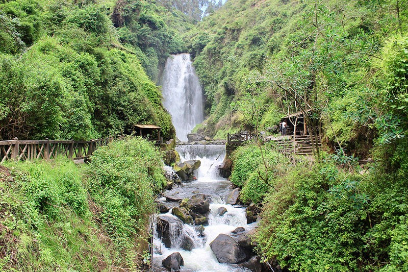 Cascada Peguche, Otavalo