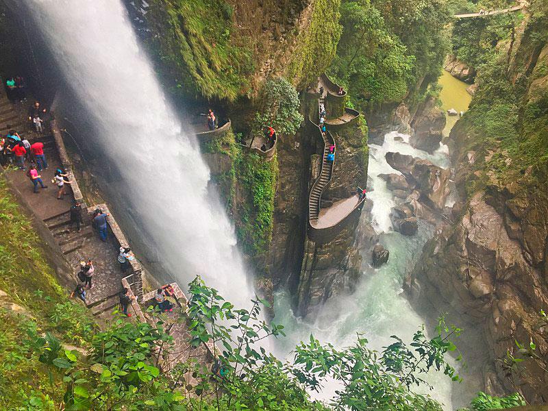 Cascada del Pailón del Diablo, Río Verde