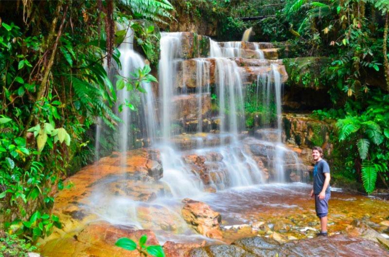 Cascadas del río Chiviaza