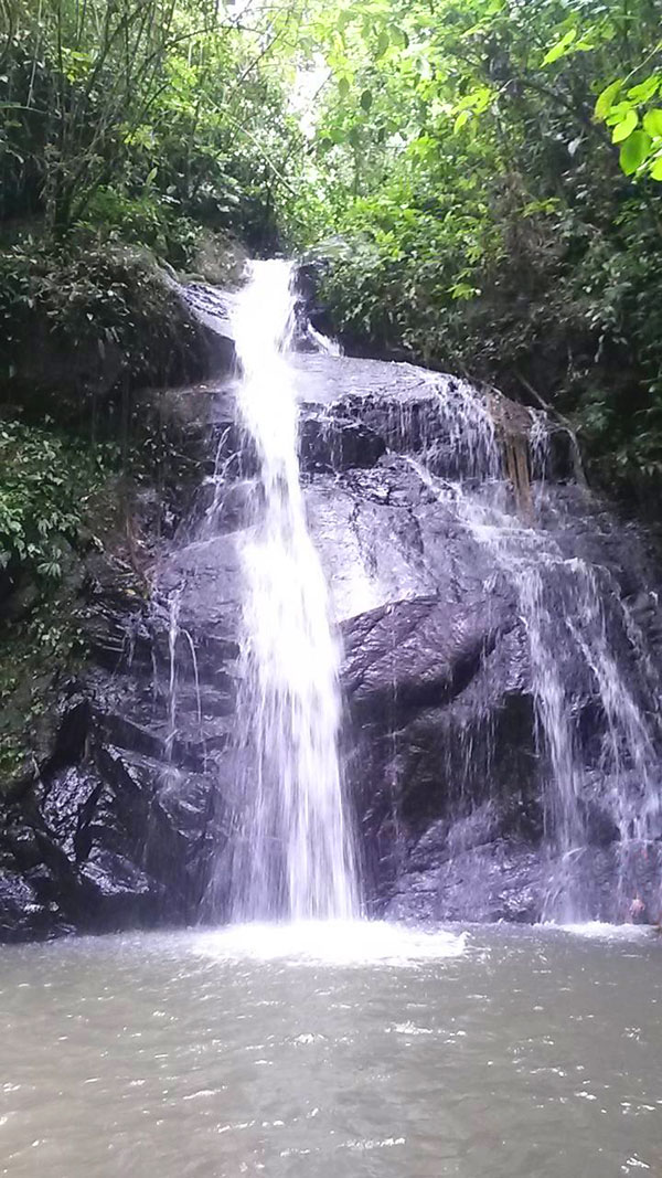 Las 7 cascadas del Naranjal