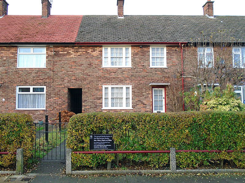 Casa de Paul McCartney en Liverpool