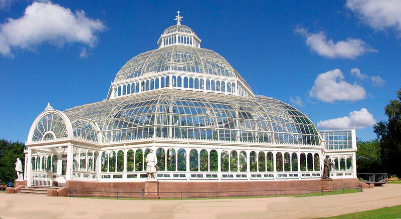 El Palm House dentro del Sefton Park de Liverpool