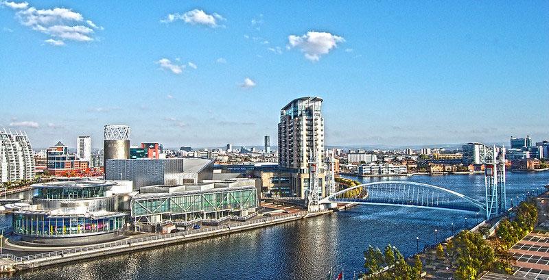La ciudad de Manchester