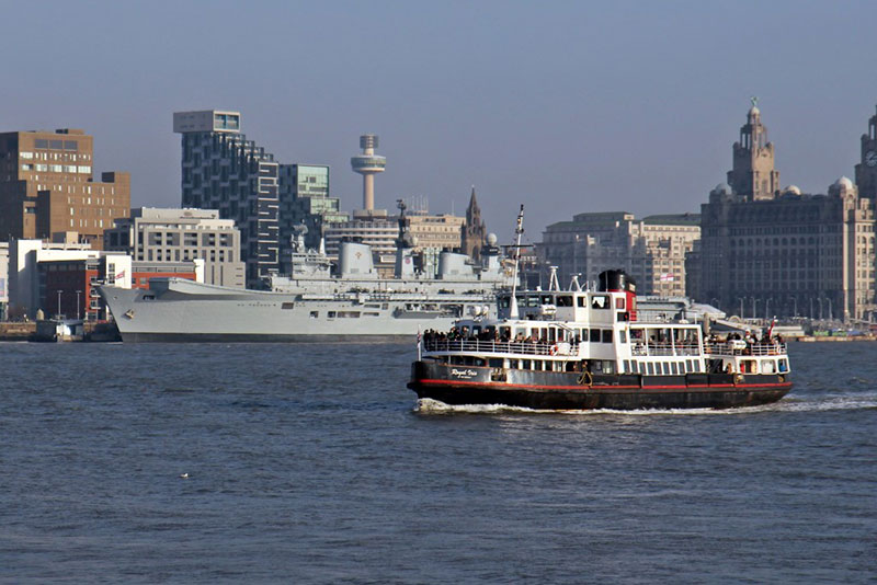 Tour Ferry en el Mersey, Liverpool