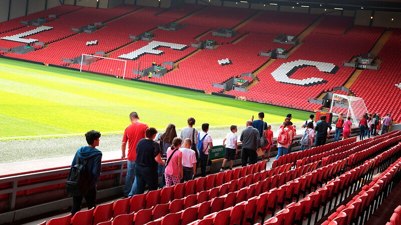 Tour por Anfield el estadio del Liverpool