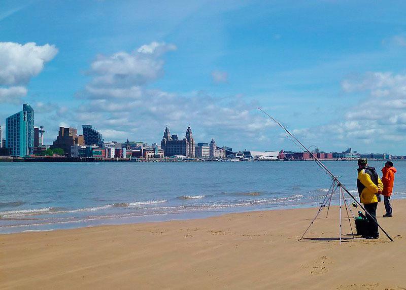 Vistas de Liverpool desde Seacombe