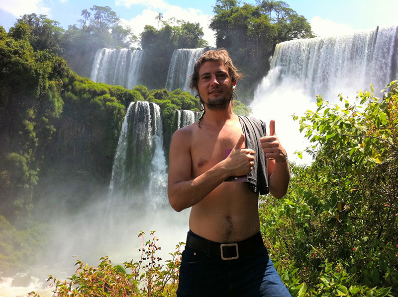 Salto Bosetti, Iguazú. Lado argentino