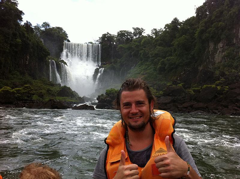 Tour de la aventura en barco en las cascadas de Iguazú