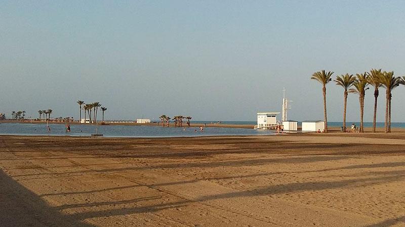 Playa Serena, Roquetas, Almería