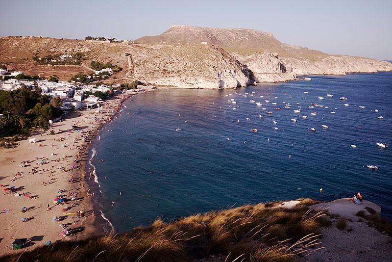 Playa de Agua Amarga, Cabo de Gata