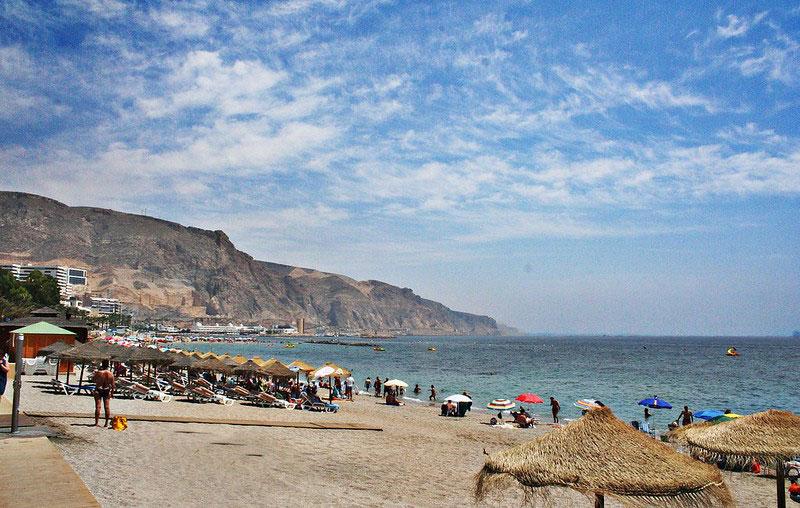 Playa de Aguadulce, Almería