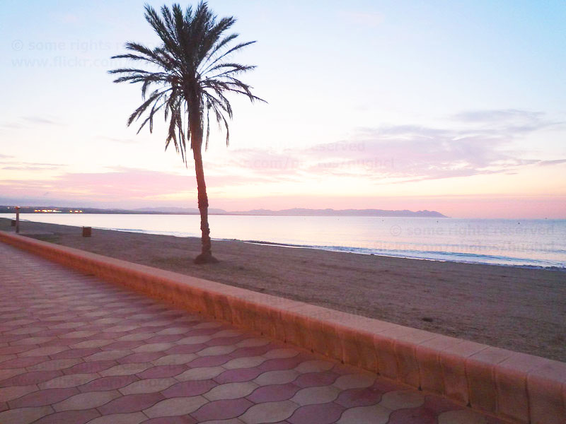Playa de Costacabana, Almería