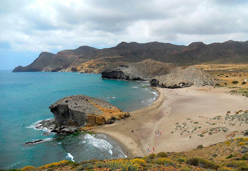 Playa de Mónsul Almería