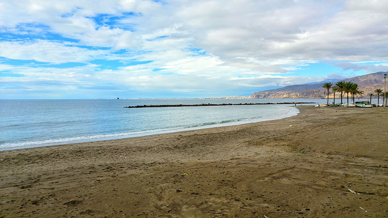 Playas de Almería capital
