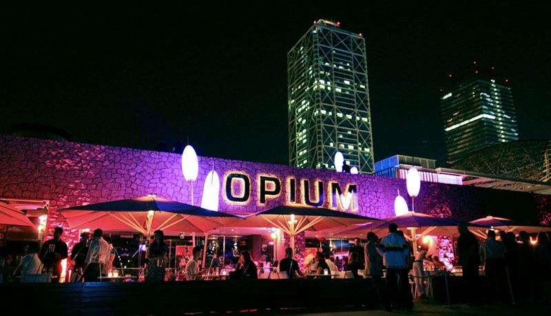 Discoteca Opium Mar en Barcelona