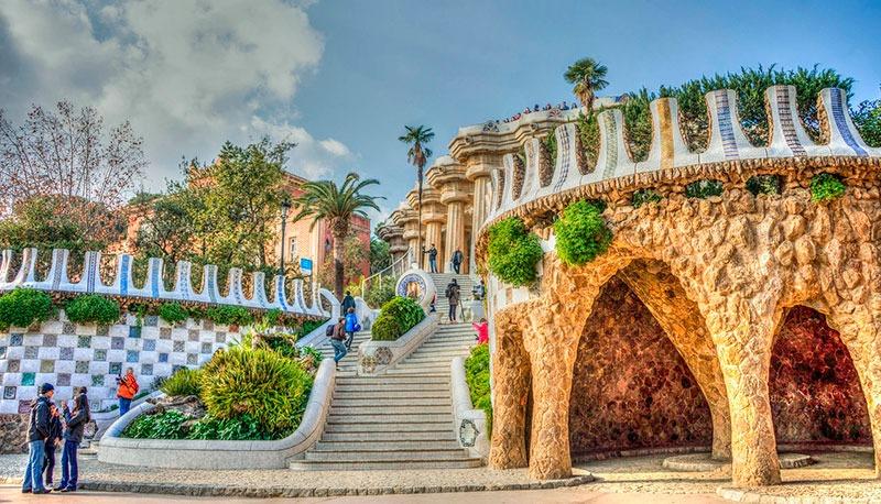 El parque Güell de Gaudí