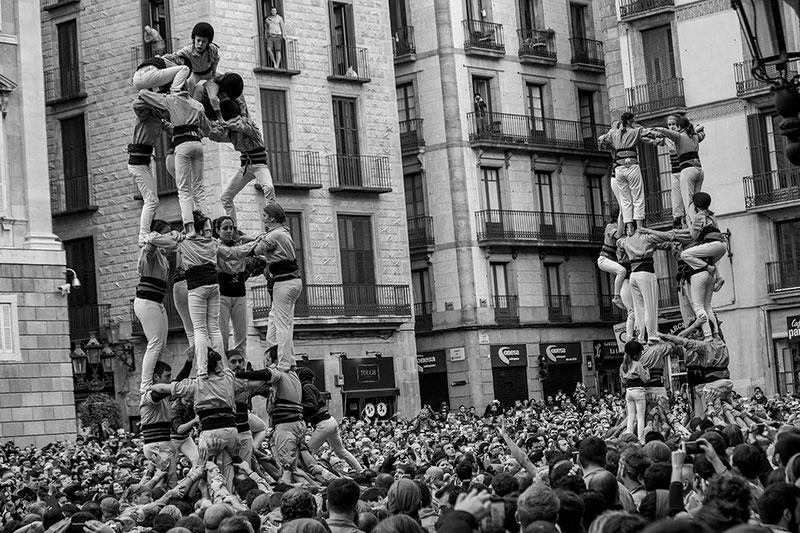 Els castells de Barcelona