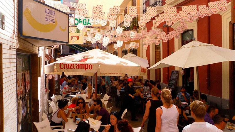 Feria del mediodía de Almería