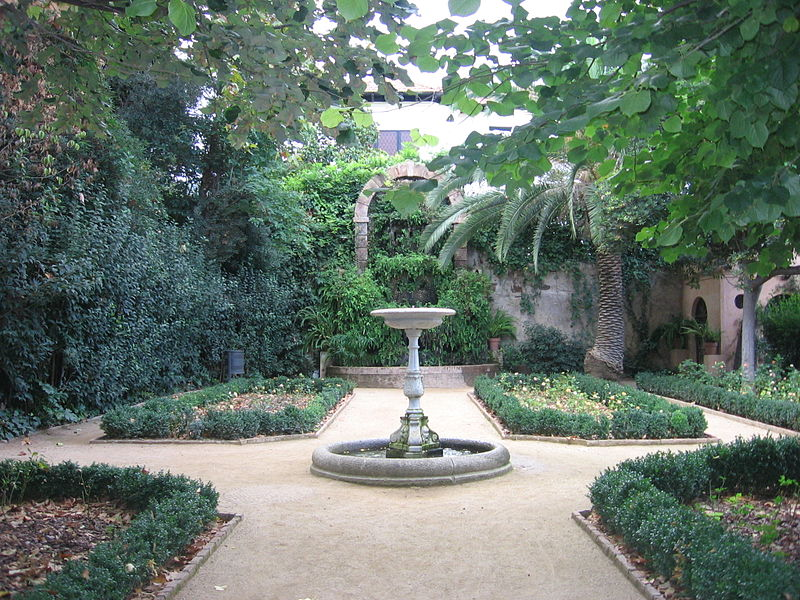 Jardines de la Tamarita de Barcelona