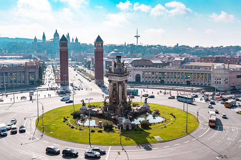 La plaza de España, una majestuosa plaza que ver en Barcelona